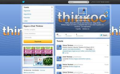 Twitter Chat Thinkoo